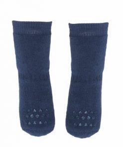 Rutschfeste Socken dunkelblau auf mina-lola.com von GoBabyGo