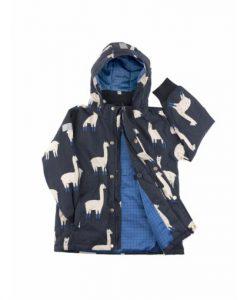 Llamas Snow Jacket auf mina-lola.com von tinycottons