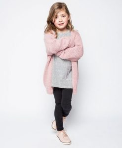 Cardigan pink von Mingo auf mina-lola.com