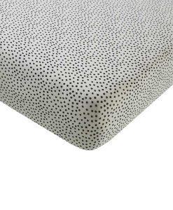 Baby Crib Leintuch Cosy Dots auf mina-lola.com von Mies & Co