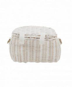 Mini Chari Bag White von Olli Ella auf mina-lola.com