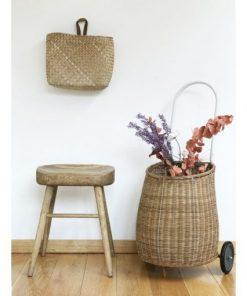 Luggy Basket Natur Large Olliella auf mina-lola.com