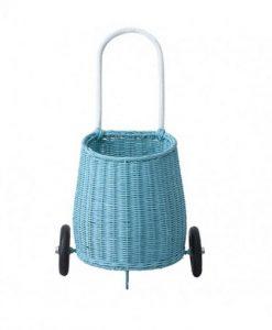 Luggy Basket Blau Olliella auf mina-lola.com