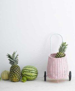 Luggy Basket Pink Olliella auf mina-lola.com