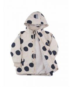 Pom Poms Snow Jacket auf mina-lola.com von tinycottons