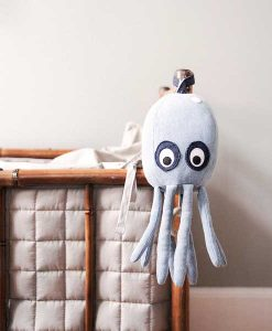 Octopus Music Mobile Denim auf mina-lola.com von ferm living