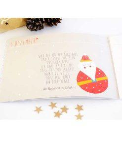 """Adventsbuch """"24 Tage für Dich"""" auf mina-lola.com von Ava & Yves"""