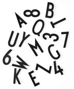 Buchstaben Box Schwarz XL Design Letters auf mina-lola.com