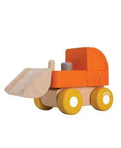 Bulldozer Mini Orange Plantoys auf mina-lola.com