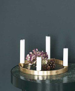 Kerzenhalter Gold Ferm Living auf mina-lola.com