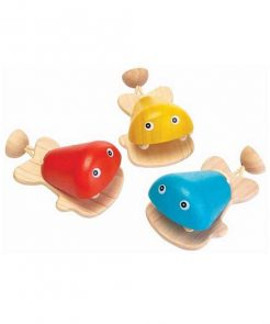 Kastagnette Fisch PlanToys auf mina-lola.com