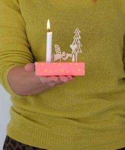 Kerzenbox Winter Neon von Engel auf mina-lola.com