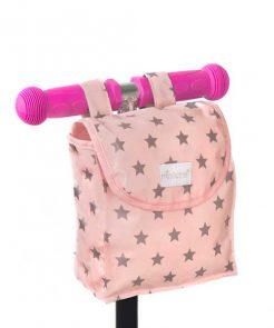 Tasche Lenkrad Pink Stars Minikane auf mina-lola.com