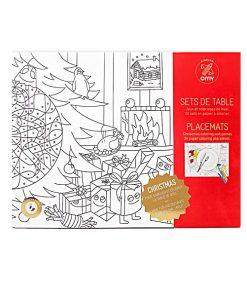 Christmas Colorin 24 Papiersets OMY auf mina-lola.com
