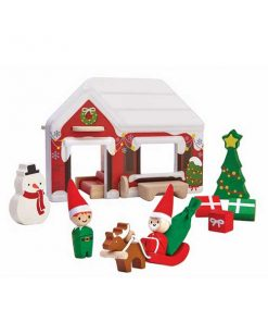 Weihnachtsmann PlanToys auf mina-lola.com