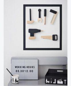 Werkzeugkoffer aus Holz von Design Letters auf mina-lola.com