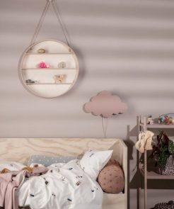 Wolken Lampe Dusty Pink Ferm Living auf mina-lola.com