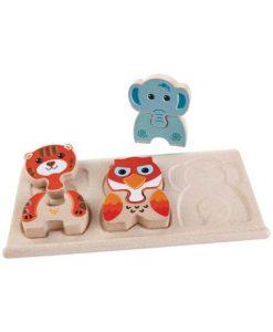 Animal Puzzle Holz auf mina-lola.com von Plan Toys