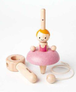 Kreisel Ballettänzerin PlanToys auf mina-lola.com