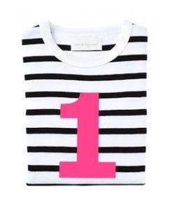 Black& white Long Sleeved T Shirt auf mina-lola.com von Bob&blossom