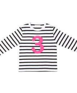 Geburtstagshirt 3 Black&White auf mina-lola.com von Bob&Blossom