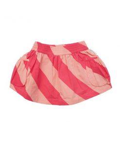 Skirt Candy Stripe von Kid and Kind auf mina-lola.com