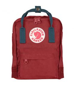 Kanken MINI Ox Red/Royal Blue Fjällräven auf mina-lola.com