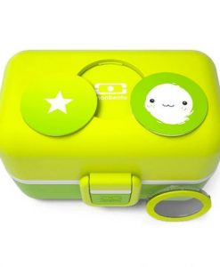 MB Tresor Lime the kids bento box auf mina-lola.com von Monbento