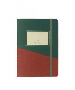 Notebook Sticky Lemon Forrest Green auf mina-lola.com