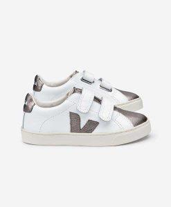 Sneaker VEJA ESPLAR LEATHER BRONZE auf mina-lola.com