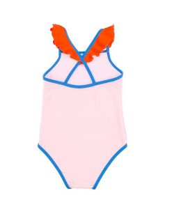 Swimsuit Color Block Frills Tinycottons auf mina-lola.com