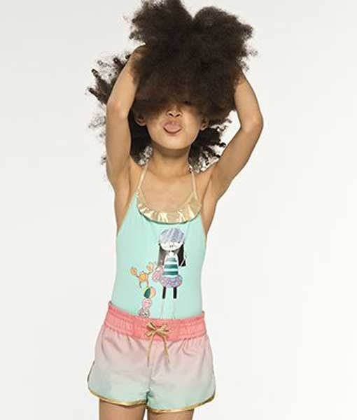 Swimsuit Miss Marc Pink Little Marc Jacobs auf mina-lola.com