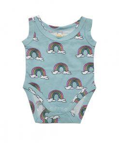 Body Blue Rainbow Hugo loves Tiki auf mina-lola.com