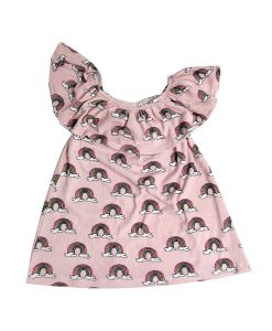 Dress Pink Rainbows Hugo Loves Tiki auf mina-lola.com