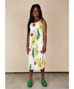 Dress Strap Veggie AOP auf mina-lola.com von Mini Rodini