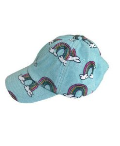 Hat Blue Rainbow ADULT Hugo Loves Tiki auf mina-lola.com