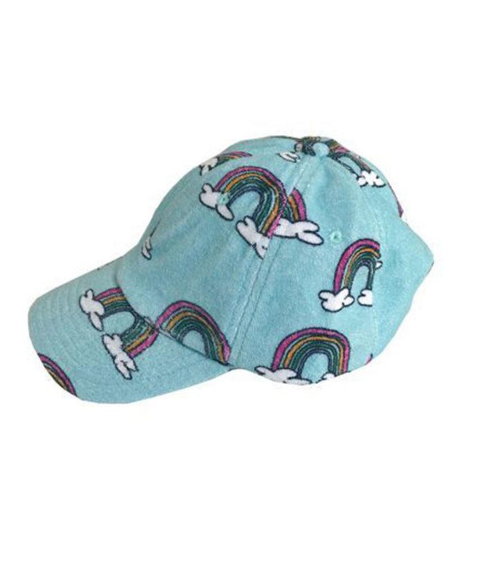 Hat Blue Rainbow ADULT Hugo Loves Tiki auf mina-lola.com