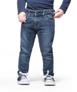 Jeans Slim Fit 6-Pocket Stone used blue Imps & Elfs auf www.mina-lola.com