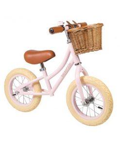 "Laufrad First Go 12"" Pink BANWOOD auf mina-lola.com"