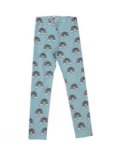 Leggings Blue Rainbows Hugo Loves Tiki auf mina-lola.com