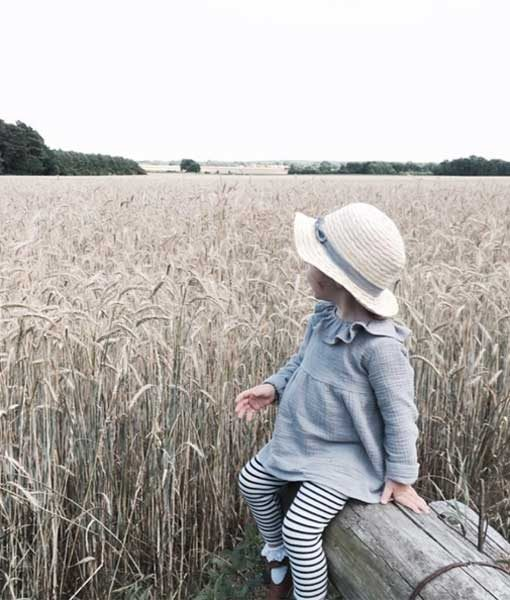 Musselinkleid ANNI von Anni Kids auf mina-lola.com