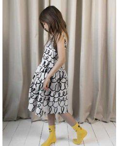 Pocket Dress Grey Loop BEAU LOVE auf mina-lola.com