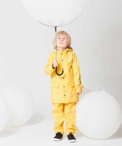 Regenjacke ELEPHANT MAN Snapdragon Yellow auf mina-lola.com von Gosoaky