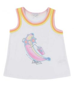 T-Shirt Ärmellos Little Marc Jacobs auf mina-lola.com