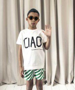 Square Sweater Chalk Blush Ciao BEAU LOve auf mina-lola.com