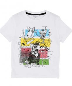 T-Shirt Band White Little Marc Jacobs auf mina-lola.com