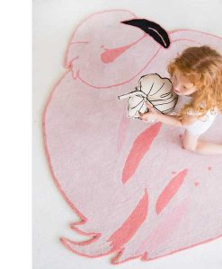 Wool Rug LOLA The Flamingo Lorena Canals auf mina-lola.com