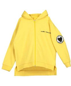 Zip Square Hoodie Yellow The Grand Voyage BEAU LOVE auf mina-lola.com