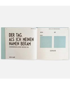 """Babyalbum """"Mein Erstes Buch"""" Design Letters auf mina-lola.com"""