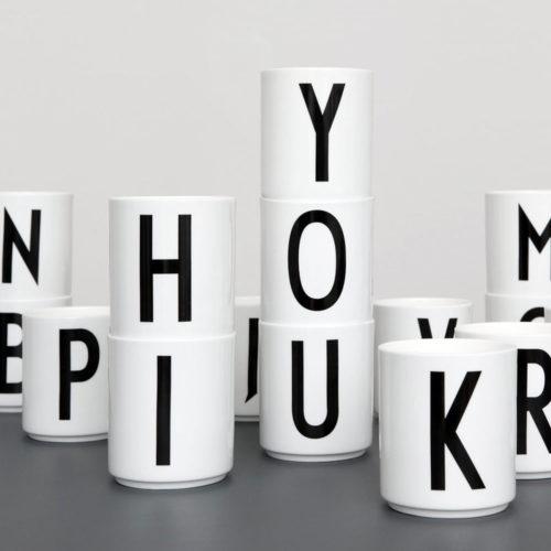 Porzellan Becher auf www.mina-lola.com von Design Letters